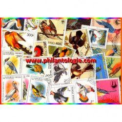 Audubon timbres thématiques...