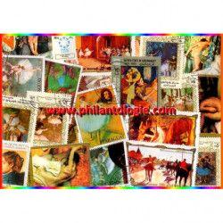 Degas 20 timbres...