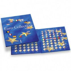 Album numismatique Euro-Collection volume 1.