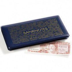 Album de poche pour billets de banque 175 x 85 mm.