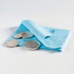 Chiffon de polissage spécial pour monnaies.