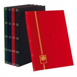 Lot de 5 classeurs Perfecta 32 pages noires pour timbres-poste.