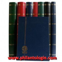 Lot de 10 classeurs Perfecta 48 pages noires pour timbres-poste.