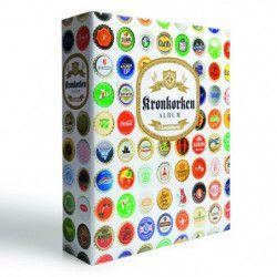 Album illustré pour collectionner 210 capsules de bière, soda.