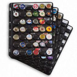 Recharges pour albums capsules de bière, soda. (COMPART 42)