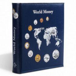 Album Numis World Collection pour 143 monnaies.