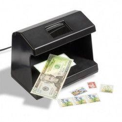 Multi testeur pour examiner timbres, monnaies, billets.