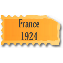 Timbres France neufs 1924...