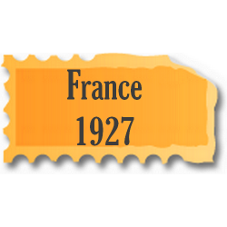 Timbres France neufs 1927...