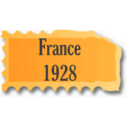 Timbres France neufs 1928...