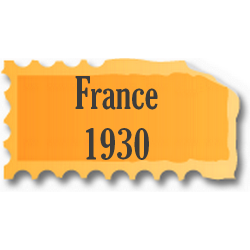 Timbres France neufs 1930...