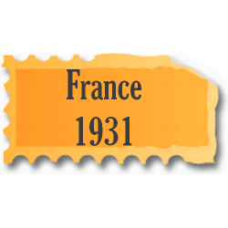 Timbres France neufs 1931...