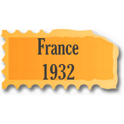 Timbres France neufs 1932...