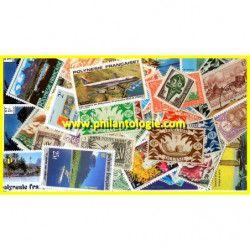 Polynésie Océanie Française timbres de collection tous différents.