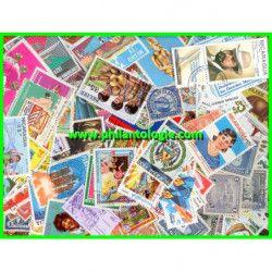 Amérique Centrale timbres...