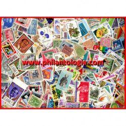 Tous pays timbres de collection neufs tous différents.