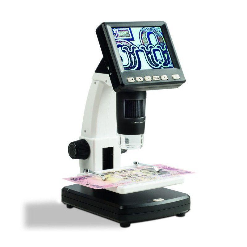 Microscope digital avec écran LCD, grossissement 500 fois.