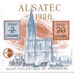 Bloc C.N.E.P. N°1 Alsatec 1980 neuf** TB.