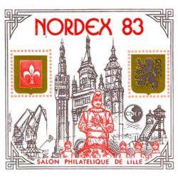 Bloc C.N.E.P. N°4 Nordex 1983 neuf** TB.