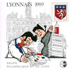 Bloc C.N.E.P. N°10 Lyonnais 1989 neuf** TB.