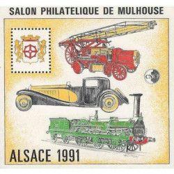 Bloc C.N.E.P. N°13 Alsace 1991 neuf** TB.
