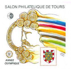 Bloc C.N.E.P. N°15 Année Olympique 1992 neuf** TB.