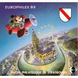 Bloc C.N.E.P. N°17 Europhilex 1993 neuf** TB.