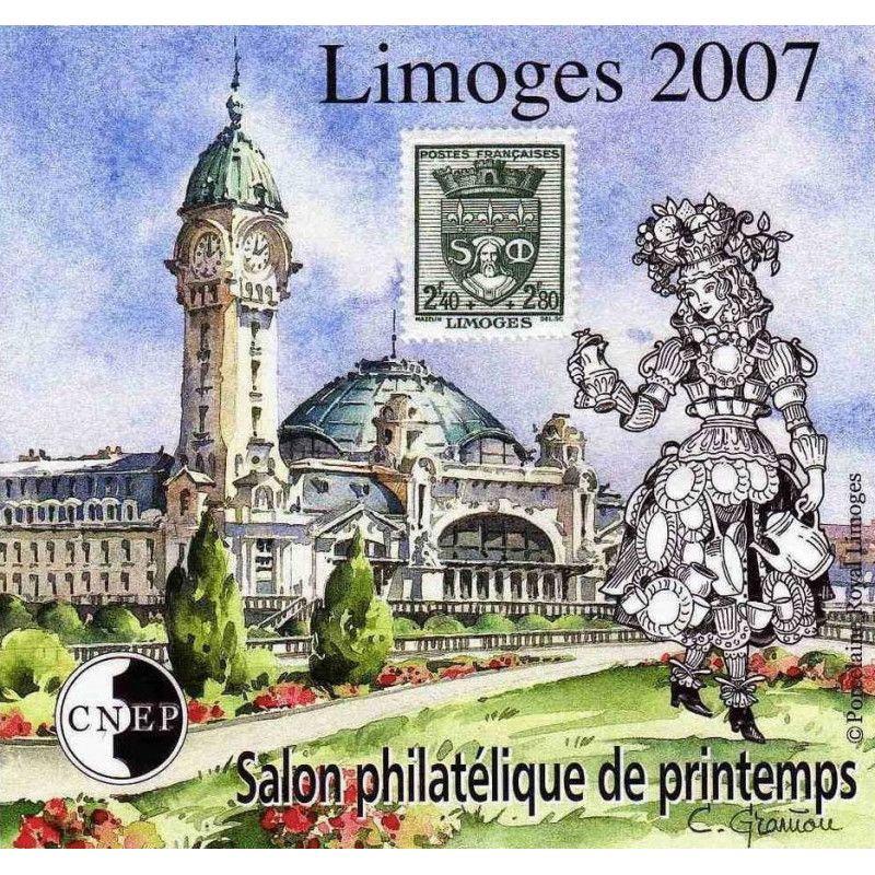 Bloc C.N.E.P. N°48 Limoges 2007 neuf** TB.