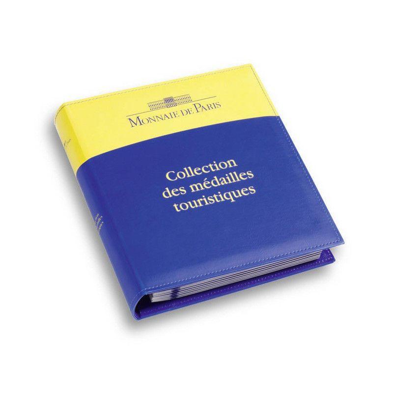 Album pour médailles souvenir Monnaie de Paris.