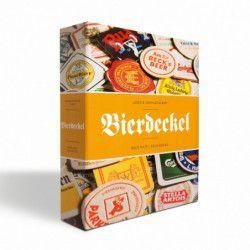 Album illustré pour collectionner 90 sous-bocks de bière.