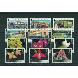 Cartes de classement à 4 bandes pour timbres-poste.