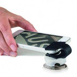 Loupe pour smartphone Phonescope grossissement 60 fois.