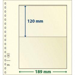 Feuille neutre Lindner-T à 1 bande. (802 105)