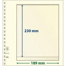 Feuille neutre Lindner-T à 1 bande. (802 108)
