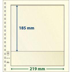 Feuille neutre Lindner-T à 1 bande. (802 109)
