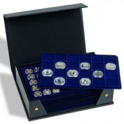 Coffret Tablo pour 10 plateaux numismatiques Leuchtturm.