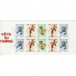 "Carnet ""Fête du timbre"" 2006 - Spirou."