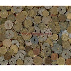 Monnaies anciennes Françaises, paquet 1 kilo.