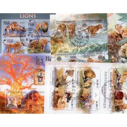 Lions 25 timbres thématiques tous différents.