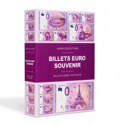 Album pour collectionner 420 billets Euro Souvenir.