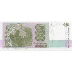 Argentine 5 billets de banque neufs tous différents.