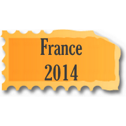 Timbres France neufs 2014...