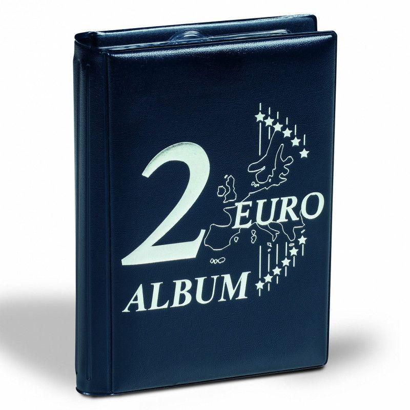 Album de poche spécial monnaies 2 euros commémoratives.