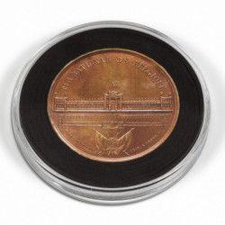 Capsules numismatiques XL pour monnaies de 29 à 76mm.