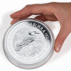 Capsule numismatique XL pour monnaies de 53 à 101mm.