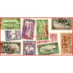 Alaouites timbres de...