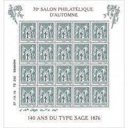 Bloc du salon philatélique...