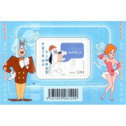 "Bloc-feuillet de timbre de France N°116 ""Tex Avery"" neuf** SUP."