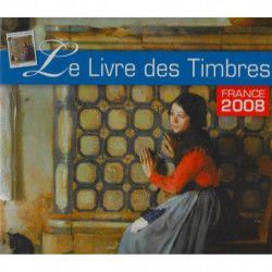 Livre des timbres de France de l'année 2008.