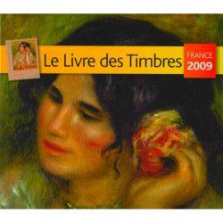 Livre des timbres de France de l'année 2009.